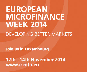 European Microfinance Week 2014, Luxembourg, MIcrocredit Conference