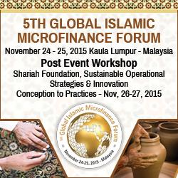 Global Islamic Microfinance Forum, November 2015, Kuala Lumpur, Malaysia