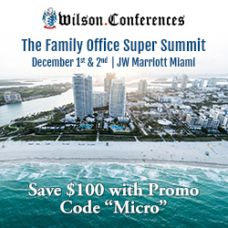 Wilson Family Office Super Summit, Miami, Florida, USA, December 2015