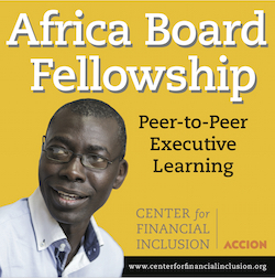 Africa Board Fellowship, Center for Financial Inclusion
