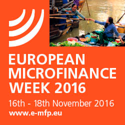 European Microfinance Week, Luxembourg, November 2016