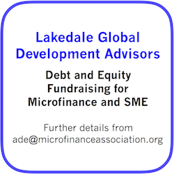 Lakedale Global Advisors; Microfinance, SME Funding