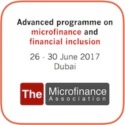 Microfinance Training, Dubai, June 2017